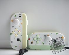 Custom Animal Crossing Themed Nintendo Switch Joy-Con JoyCon Controllers - Switch Nintendo - Switch Nintendo for sales - - Game Room Kids, Game Room Basement, Games For Kids, Basement Ideas, Kids Room, Nintendo Switch Accessories, Gaming Accessories, Gaming Microphone, Gaming Router