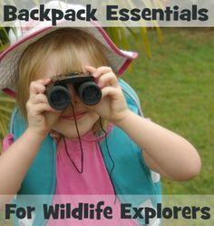 Backpack Essentials for Wildlife Explorers | Wildlife Fun 4 Kids
