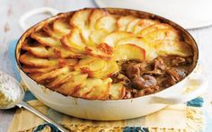 Slow-cooked lamb topped with slices of crisp, golden potato – no wonder this recipe has gone down in the history books as a classic.