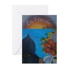 LA FLORIDA Greeting Cards