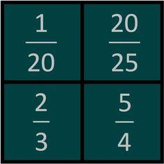 Which One Doesn't Belong - Math Bulletin Board Idea Act Math, Math 5, Math Talk, 5th Grade Math, Math Fractions, Guided Math, Teaching Math, Math Games, Math Puzzles Brain Teasers