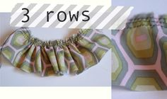 How to sew great ruffles