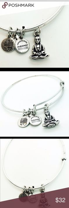 Alex and Ani Buddha Wrap New with no Tags and no Box ( All Pictures are actual pictures) Alex & Ani Jewelry Bracelets