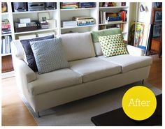 Always wanted to reupholster a couch!