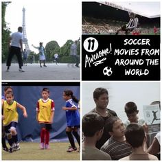 "Multicultural soccer movies for kids from around the world! Watch these foreign films about ""football"" with your kids as soccer inspires and unites us. There are funny movies, inspiring documentaries, and tear-jerking stories! Educational Activities, Fun Activities, Educational Videos, Teaching Kids, Kids Learning, Teaching Tools, Africa Activities For Kids, Geography For Kids, Geography Lessons"
