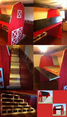 The Barn Bunkbed Project