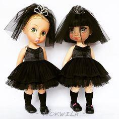 Black Princess Doll Clothes / Disney Animator Doll Rapunzel and Snow White