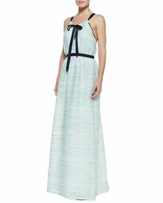 The Cannon Maxi Dress by Troubadour at Neiman Marcus. #Troubadour