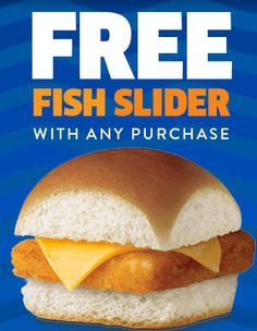 Hometown buffet coupon for bogo free dinner text offer for White castle double fish slider with cheese
