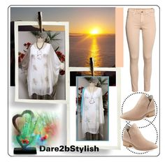 """""""DARE2BSTYLISH #17-II"""" by nizaba-haskic ❤ liked on Polyvore featuring Eileen Fisher and NOVICA"""