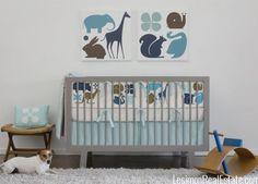 Decorating a Modern Nursery