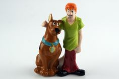 Scooby-Doo and Shaggy - Salt  Pepper Shakers