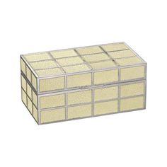Devereaux Grid Box, Ivory - Boxes - Tabletop / Accents - Products - Ralph Lauren Home - RalphLaurenHome.com