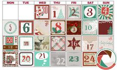 Collections :: A :: Advent Calendar 2016  FREEBIES