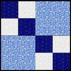 Free Easy Quilt Block Patterns | ... Quarters: Kansas' Premier Quilt Shop with Free Quilt Patterns by lilly