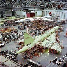 "Concorde ~ British Airways: ""In The Hanger."""