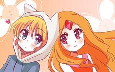 hora de aventura en anime | Fan Arts De Finn Y La Princesa Flama Muy Buenos ;) - Taringa!