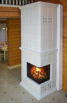KAFEL-KAR - Aktualności taki dla nas ale tylko dół? Stove Fireplace, Vintage Kitchen, Interior Inspiration, My House, Sweet Home, Art Deco, Cottage, House Design, Living Room