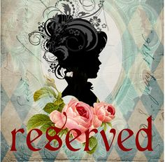 RESERVED by savor on Etsy
