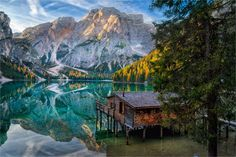 """Tales of Dolomites - Lago di Braies"" - Dolomites, Italy   <a href=""http://phototours.com.ua/tours""> Phototours.com.ua</a>"