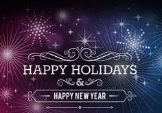 Happy Holidays And A Prosperous New Year - Happy new Year New Year Business Greetings, Business Holiday Cards, New Year Special, Happy New Year 2020, Merry Christmas And Happy New Year, Happy Holidays, New Years 2016, Year 2016, New Year Postcard