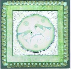 Card using Kanban card topper