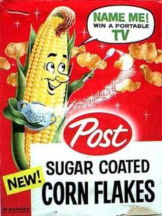 old cereal boxes | Vintage Post | Cereal Boxes