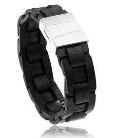 Bracelet Arizona cuir noir - Police