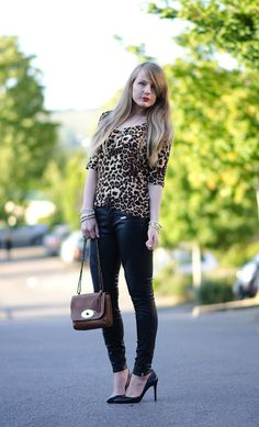 The Leopard & The Leather http://raindropsofsapphire.com/2014/08/10/the-leopard-and-the-leather/