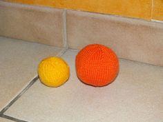 Tuto balle au tricot, balle tricotée (2 aiguilles)