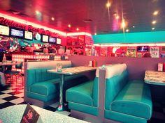 Venez manger au Tommy's diner café d'Angers.