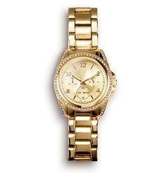 Mark. Gold plated watch