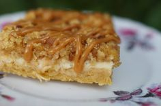 In the Kitchen with Jenny: Apple Pecan Cheesecake Bars with Caramel