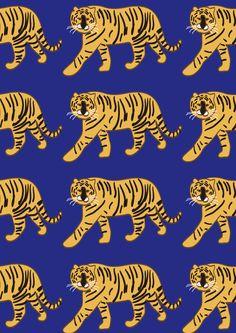 sogonsogon pattern / tiger