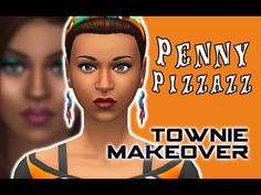 12 Best Penny Pizzazz - Sims 4 Townie Makeover images in