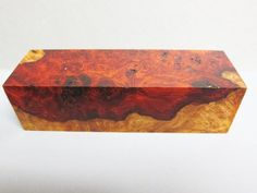 Rare, Amboyna Burl, Exotic Wood blank Chunk AB 970 x x 5 inch pen blank knife scale Woodcrafter supply Woodworking supplies Amboyna Burl, Wood Supply, Pen Blanks, Knife Handles, Woodworking Supplies, Beautiful Patterns, Butcher Block Cutting Board, Exotic, Scale