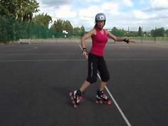How to do a spin stop video tutorial on inline skates and rollerblades - YouTube