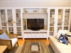 Coastal Cool Media Room - Sabrina Soto's Best Designs on HGTV