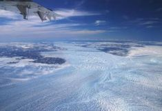 December 2019 Greenland ice losses rising faster than expected by University of Leeds Aerial photo of icebergs discharging from Greenland's Jakobshavn Glacier Credit: William Colgan, Geological Survey of Denmark and Greenland Greenland Ice Sheet, Climate Warming, Target Setting, University Of Sheffield, Physical Geography, Sea Level Rise, University Of Washington, Antarctica, Geology