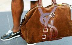 AGB Style: YSL Vavin Duffle Bag