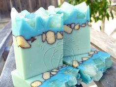 Video for making this beautiful soap from Soap & Restless