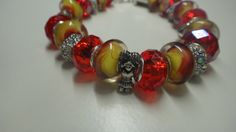 Check out this item in my Etsy shop https://www.etsy.com/es/listing/256561920/bracelet-murano-bracelet-lampwork