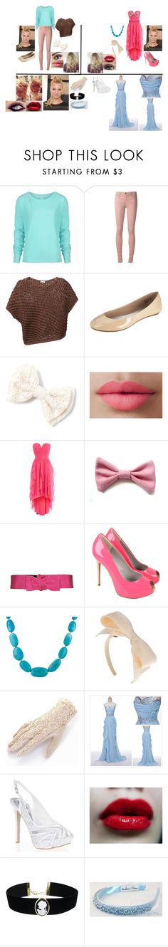 """Glee:Disney:Britanny is Cinderella"" by glee2shake ❤ liked on Polyvore featuring Bench, Joe's Jeans, Brunello Cucinelli, LORAC, Coast, Lanvin, Bourne, Darlene de Sedle, Maurizio Pecoraro and Quiz"
