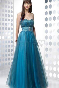 Falte Mieder A Linie Reißverschluss Tüll Kristall ärmelloses trägerloses Süß 16 Geburtstag Kleid
