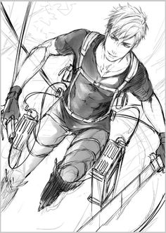 Erwin Smith, I don't know why but he seems like a bad guy....