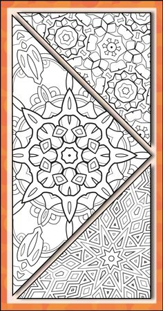 Get your free coloring book from Fantastic Patterns! Original pages you can print at home.