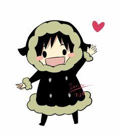 Izaya Orihara - Durarara!! Chibi Izaya, cute!