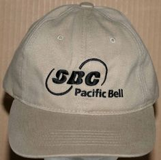 2001-2002 SBC/Pacific Bell Telephone Co. Embroidered Cap Adult Size Adjustable #Legend