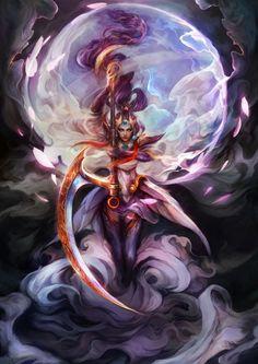 moon goddess Diana