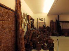 Ecomuseo delle Erbe Palustri, interni